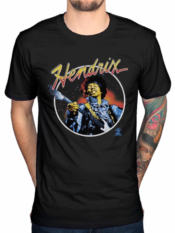 NEW /& OFFICIAL! Jimi Hendrix /'Script Circle/' T-Shirt