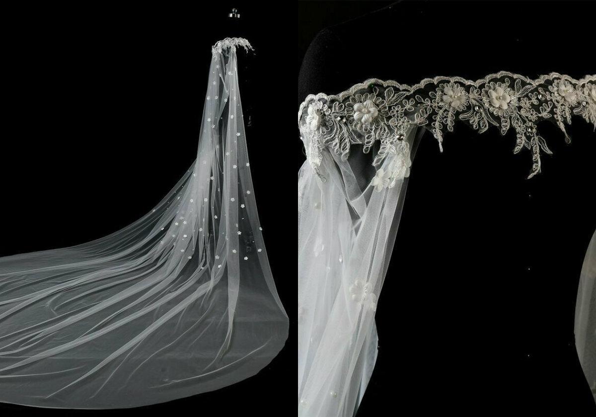 Heißer Verkaufs-Appliqued Spitzen Perlen-Boot-Ausschnitt Weiß Elfenbein-Spitze Cape Umhang Schal Hochzeit Jacke Brautverpackungs-Zug