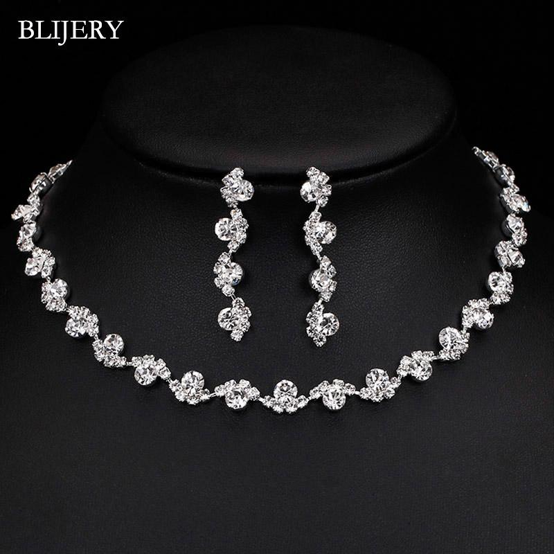 NECKLACE EARRINGS SET,WEDDING,PARTY,PROM,GIFT JEWELLERY VARIOUS MODELS UK STOCK