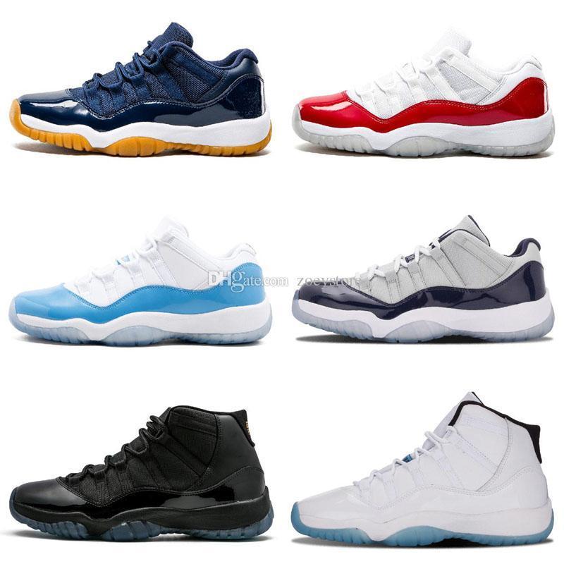 11 Space Jam Bred + Número 45 novos Concord Basquete Calçados Homens Mulheres Sapatos 11s Marinho Vermelho Gamma azul 72-10 Sneakers
