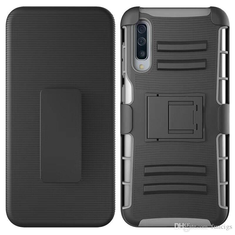 Hot selling TPU armor defender mobile phone case for samsung A30/A50 heavy huge explosion-proof phone cover