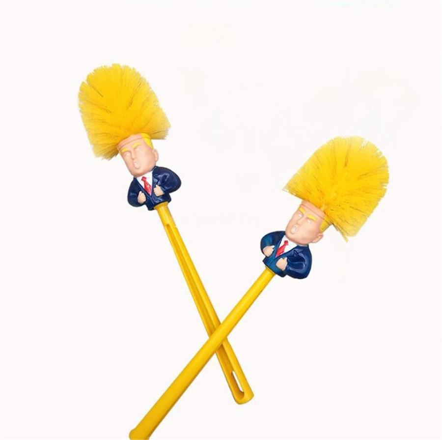 Accesorios Familia Utilidad desechable de mango largo para sujetar el cáliz Aseo Trump cepillo de limpieza sin ángulo muerto del reemplazo Baño # 335