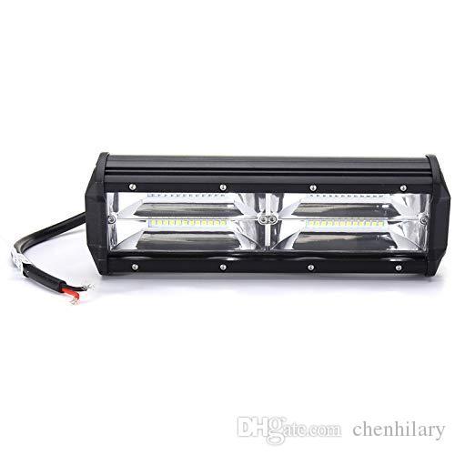 Luce del lavoro 9,5 inch 144W LED Bar SUV ATV 4WD 4x4 di guida lampada 12V 24V impermeabile Off Road ha condotto le luci del tetto dell'automobile Lightbar per i camion Trailer