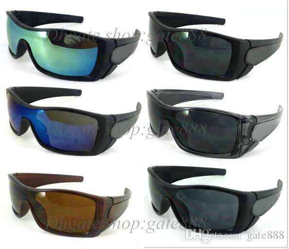 Neue Art und Weiseart für Sonnenbrillenfrauen der Männer tragen Sonnenbrille-Entwerfergläser freies Verschiffen 9 Farbe 10pcs / lot zur Verfügung.