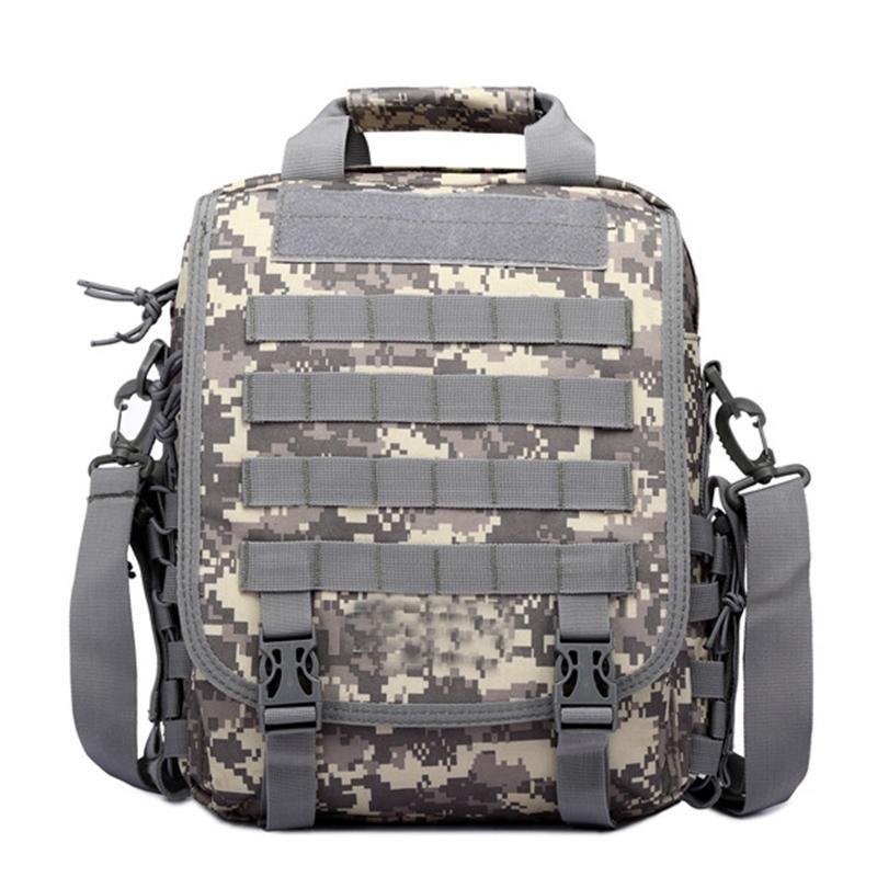 전술 배낭 몰리 어깨 노트북 핸드백 방수 하이킹 사냥 캠핑 야외 여행 가방 메신저 가방