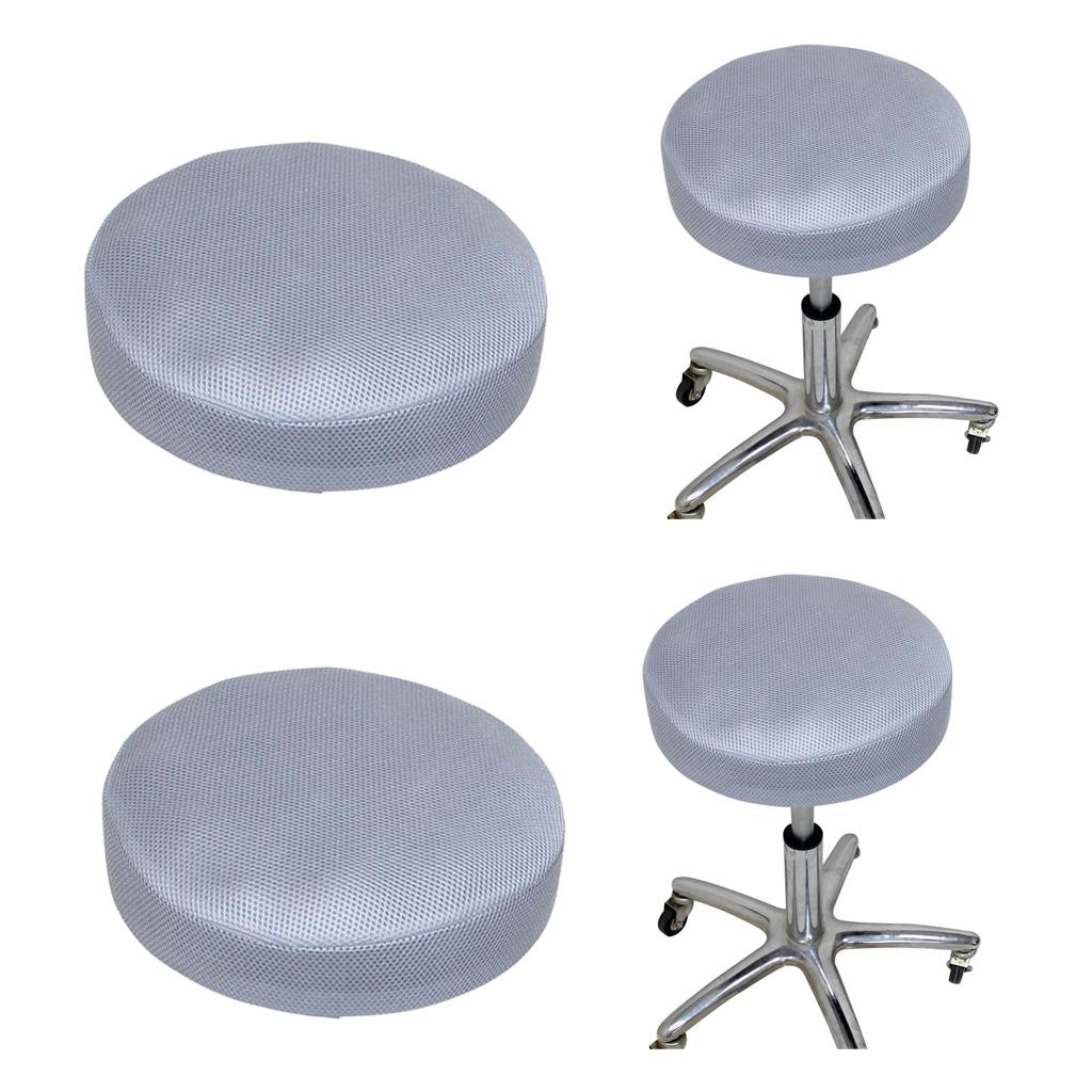 Picture of: 2020 Round Bar Stool Cover Chair Seat Cushion Slipcover Home Office Chair Pad Protector Covers Non Slip 35x10cm From Zeyuantrading 12 4 Dhgate Com