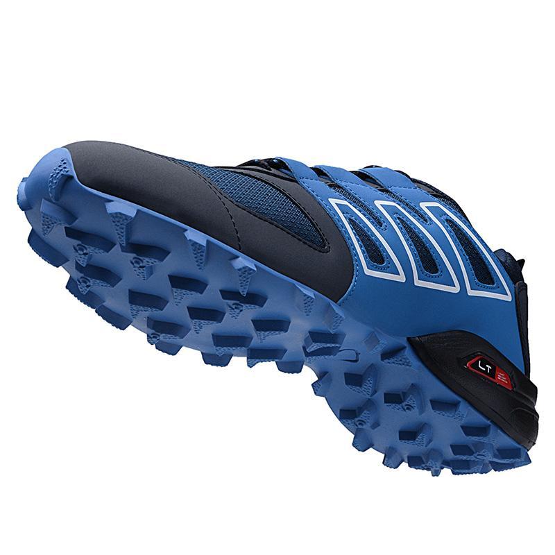 Professionnel Hommes Golf Sport Chaussures Big Taille 39-47 Golf Printemps Eté Hommes formation Chaussures Noir Bleu sans crampons formateurs