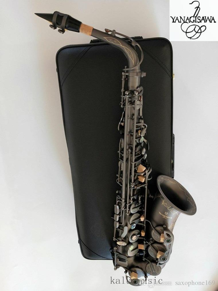 Japonés Yanagizawa A-992 Nuevo Saxofón Negro E Instrumentos Musicales Planos Calidad Saxofón Alto Super Profesional