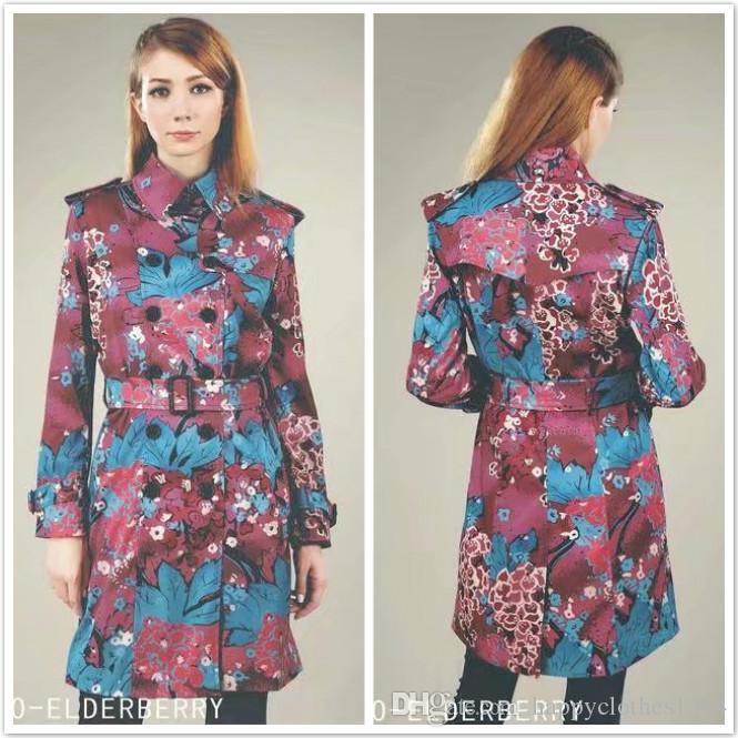 Самые продаваемые зимние пальто шанца женщины весна осень Двойной Брестед Верхняя одежда Trench Элегантный офис Бизнес-леди Средний Длинные Тонкий тренчкот