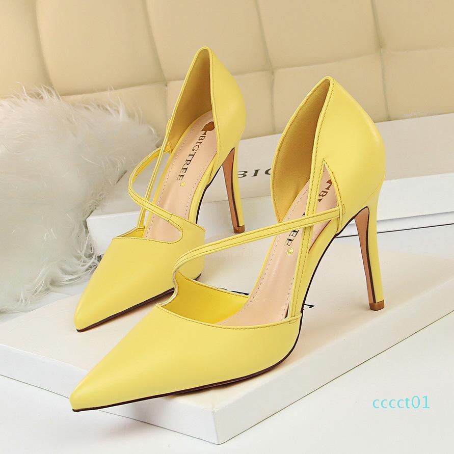Hot Sale- pumps women shoes dress office shoes women pink heels escarpins sexy hauts talons zapatos fiesta mujer elegante high heels