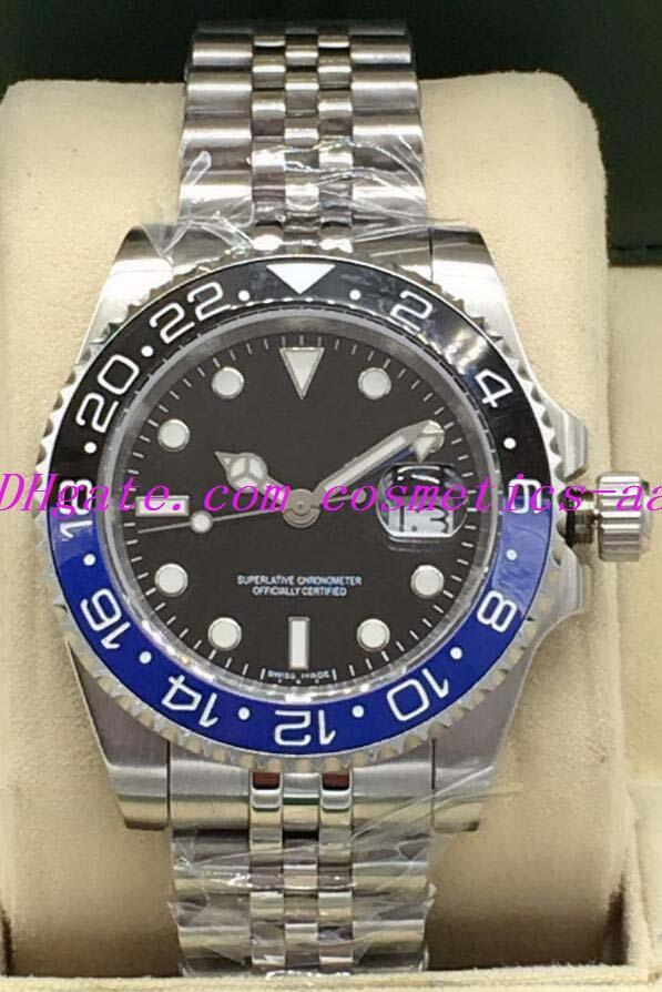 Watch Orologi Mens Batman 126710 126711 126719 126715 Asia 2813 Movimento automatico 5 Stile GMT di lusso