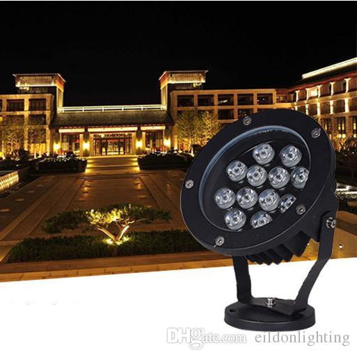 Projecteur à LED d'extérieur 48W 36W 24W 18W 15W AC85-265V 120-130LM / W PF0.9 Lampes imperméables de lumière d'inondation pour l'éclairage de paysage Direct Shenzhen