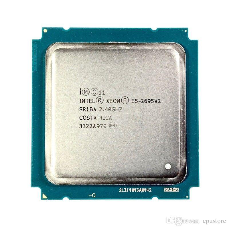 Intel Xeon E5-2695 v2 2.40GHz 30MB 12-Core 115W LGA 2011 SR1BA E5 2695V2 Server Processor cpu E5 2695 V2