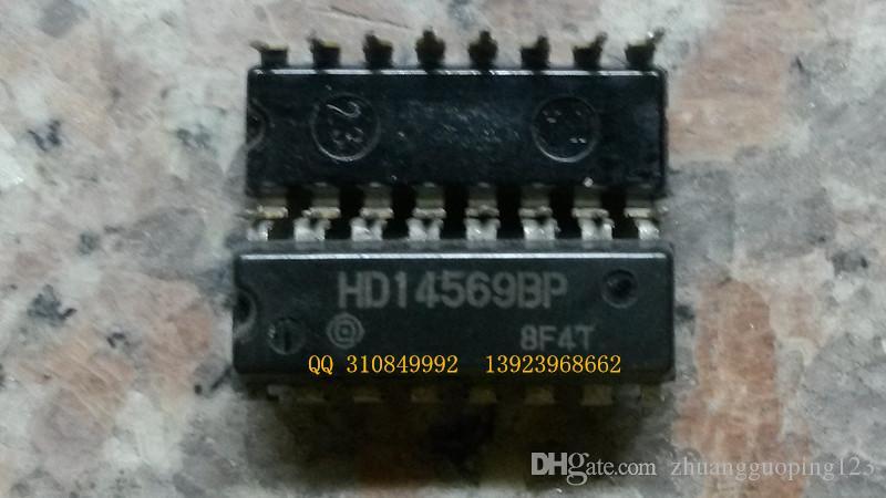 Envío gratis HD14569BP MC14569BCP componentes electrónicos de doble aguja de 16 en línea, chips de circuito integrado, IC