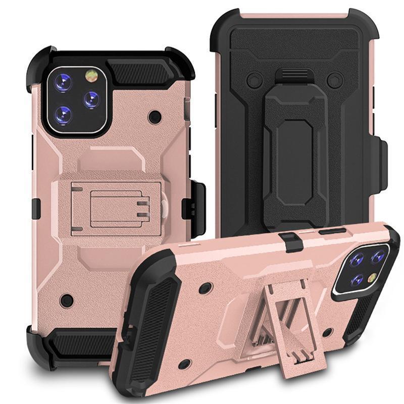 iphone için Kemer Klipsi 11 Pro 2019 moto e6 g7 oyun Defender Kılıf Zırh Hibrid Ağır Hizmet Sağlam Defender Kılıf Klip Koruyucu Max