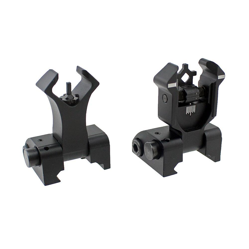 ar- 15 AR 15 elmas ön filp görüş ayarlamak açıklıklar Çift boşluğu olan ayar Picatinny demir manzaraları