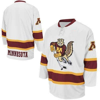 Minnesota Goldenes freies Verschiffen Gophers College-Retro Eis-Hockey-Jersey-Männer genähtes Benutzerdefinierte Nummer Name Trikots