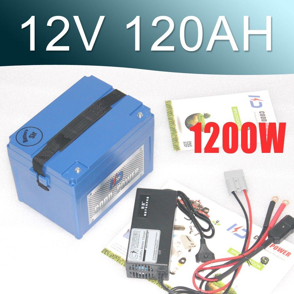12V بطارية ليثيوم أيون حزمة 120AH قدرة كبيرة سوبر بطارية 12V ليبو