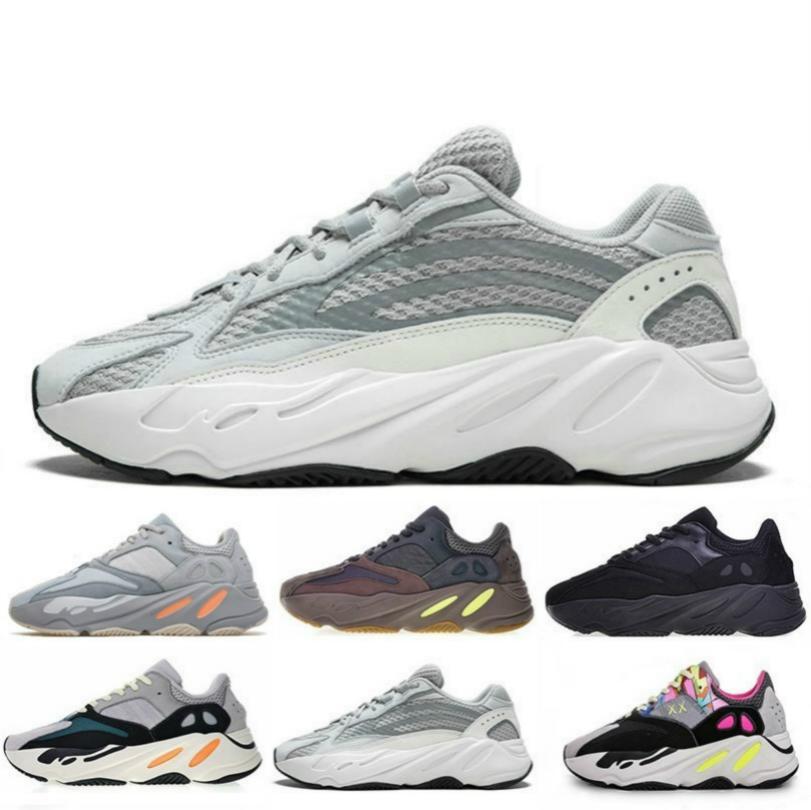 Erkekler Kadınlar B75571 Dikiş Renk Üst Kalite Atletizm 13 mens 2019 yüksek kaliteli 700 Dalga Runner Leylak EE9614 B75571 Günlük Ayakkabılar