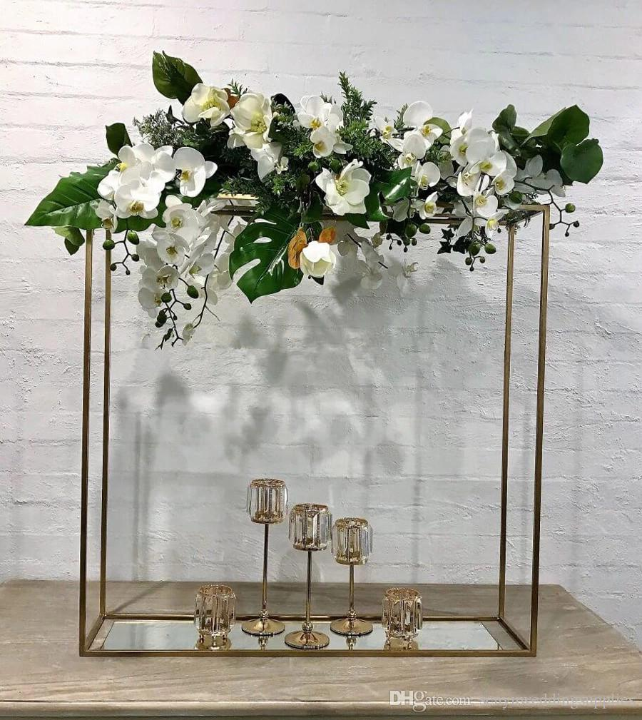 Hot selling wedding flower arches round metal arch for flower wall backdrop walkway pillar stand for wedding stage senyu0420