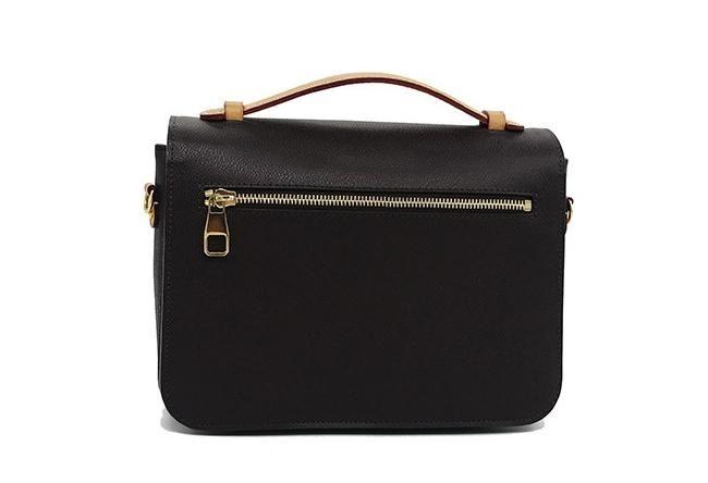 Designer- Freies Verschiffen! Arbeiten Sie echtes Leder Handtasche der Frauen Metis Schulterbeutel M40780