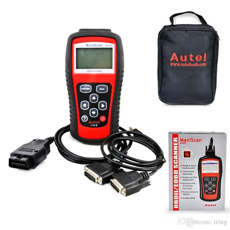 MaxiScan Diagnostic Tool Autel MS509 MS OBDII OBD2 EOBD Automotive Code Reader Scanner Work for US Asian European Car