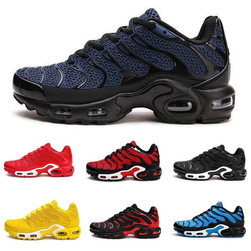Горячие продажи TN Plus 2020 Новых дизайнерской мужской ОТК обувь дышащей сетка Chaussures Homme Tn Спортивная обувь ReQuiN Maxes # кроссовок Супер
