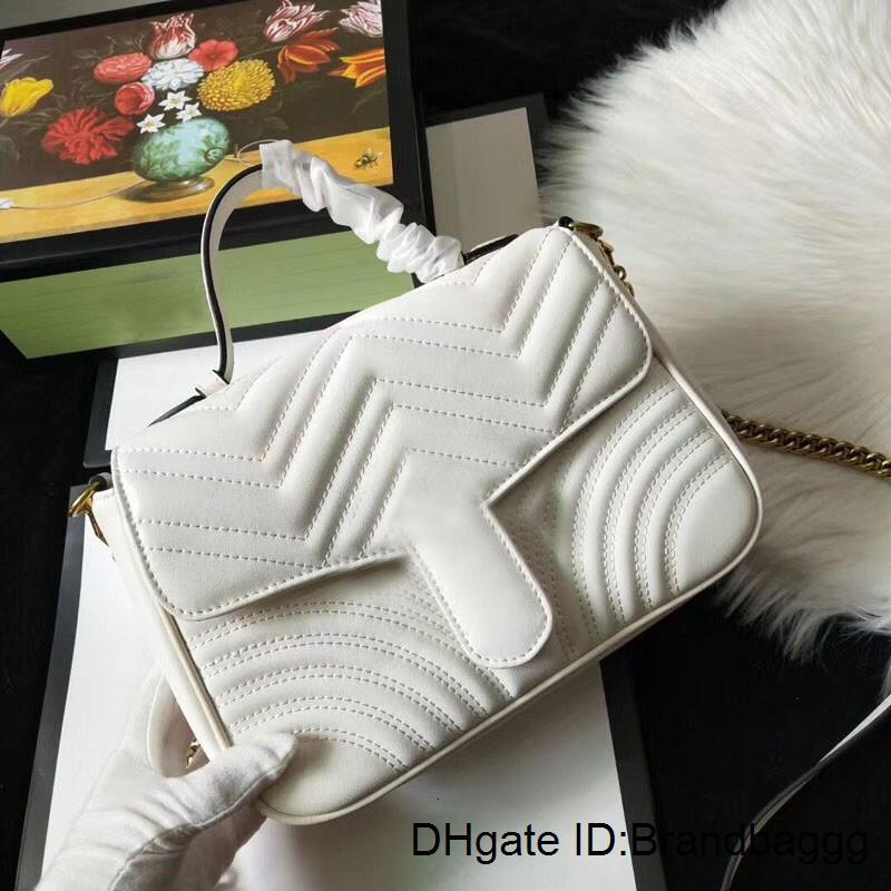 2020 clássico Mulheres sacos padrão do amor do coração da onda V Satchel bolsas com alça de ombro cadeia saco Crossbody Bolsa de compras sacolas