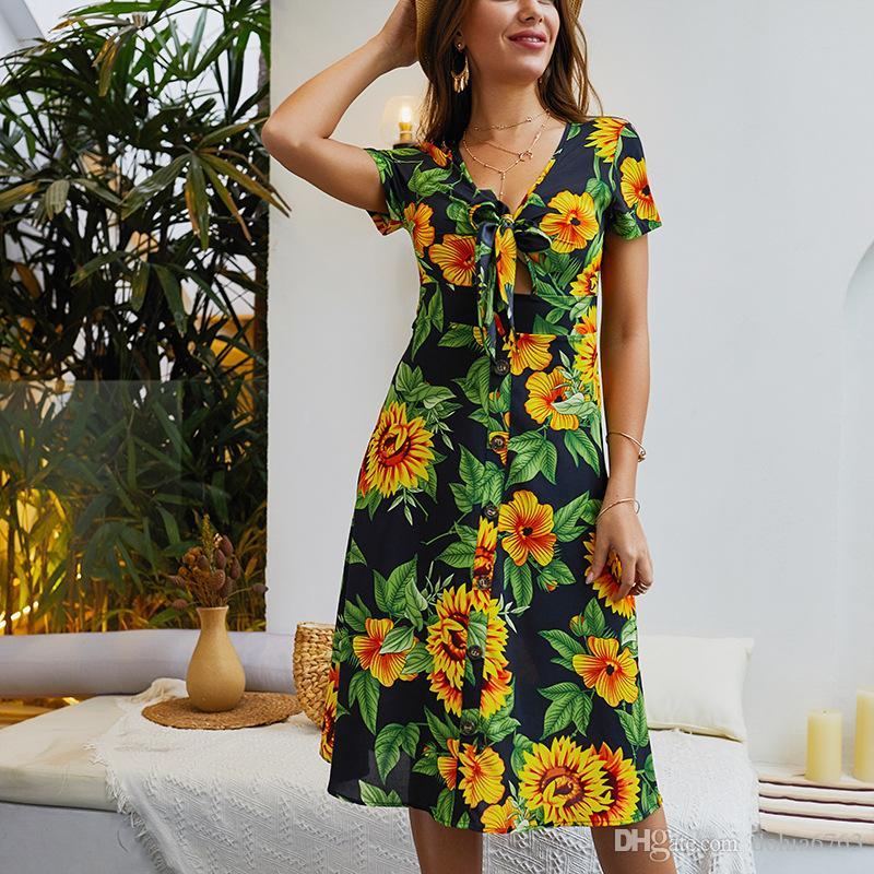 Avrupa ve amerikanyaz modayaz yeni baskı askısı seksi elbise yaz çiçek resimleri beyaz mavi renk yeni tasarım