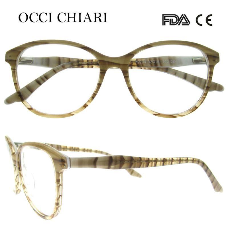 OCI CHIARI 2018 New Vintage High Quality Computer Anti-blue ray Women Looks Optical Framework Eyeeglasses W-CORINO