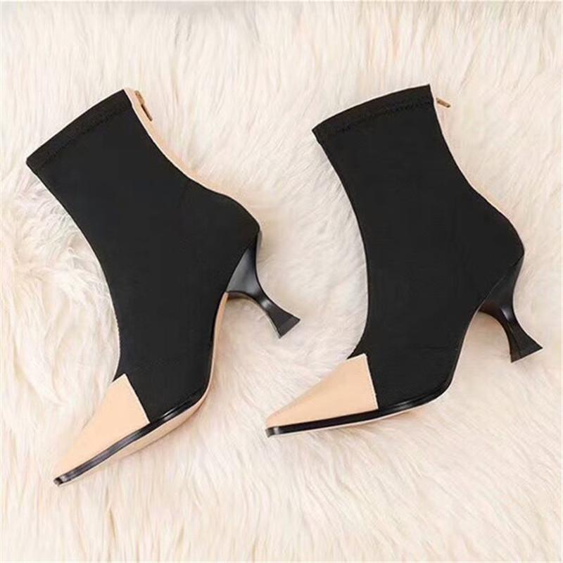 Designer Shoes Hot Sale-Designer Donne Designer Shoes Scarpe Donna Superstar modo caricamenti del sistema donne di alta qualità signore Calzini di avvio