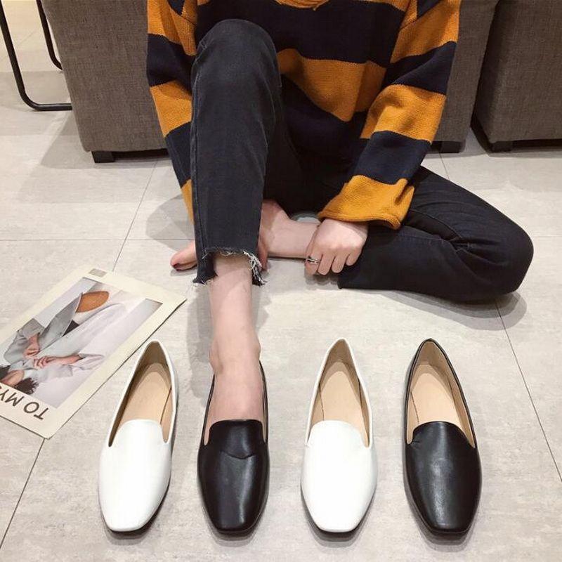 Spring Summer Ladies Shoes Ballet Flats Women Flat Shoes Woman Ballerinas Black