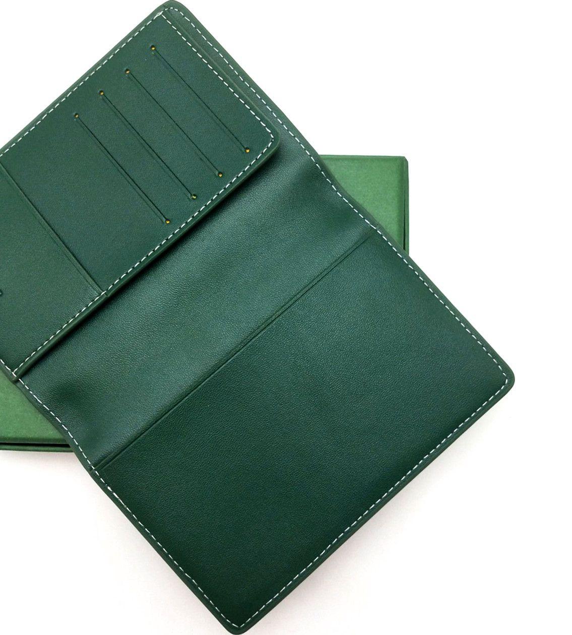 ذات جودة عالية جديد الغلاف جواز السفر كلاسيك للرجال أزياء المرأة حامل جواز السفر يغطي حامل بطاقة الهوية مع صندوق