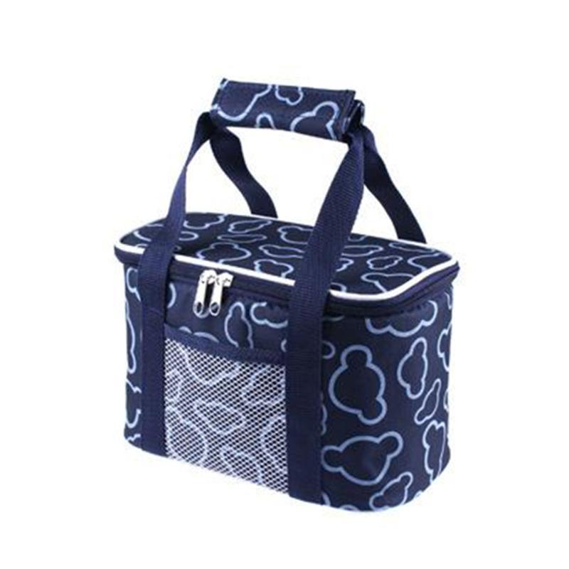 Bolsas bolsa portátil bolsa de almuerzo con aislamiento térmico almuerzo de mano bolso más fresco Bento bolsa Contenedor de cena de la Escuela de almacenamiento