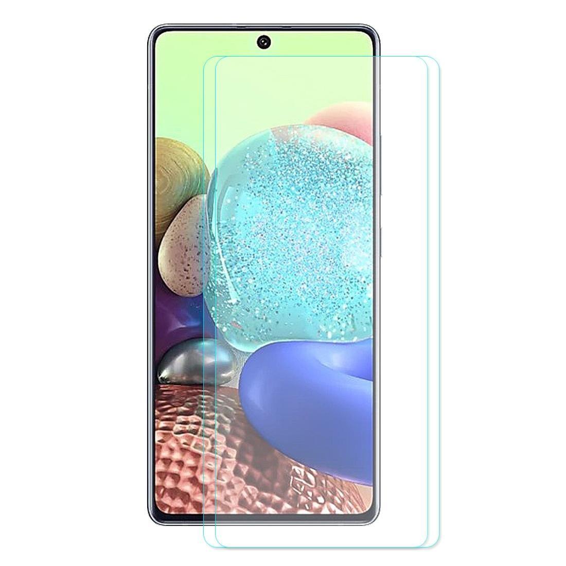 Для Galaxy A71 2 PCS ENKAY Hat принц 0.26mm 9Н 2.5D Изогнутые края Закаленное стекло пленки