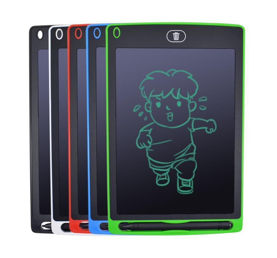 8,5 pouces LCD tablette écritoire Pad Dessin numérique Handwriting carte graphique Paperless couleurs Bloc-notes de soutien Effaceur Fonction 5