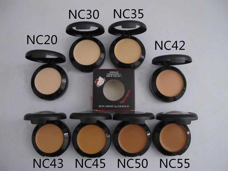 New Face Mineralize Concealer Foundation SPF5 Makeup 5g Make Up Mineral Touch Whitening Facial Cover Pore Lasting Corrector