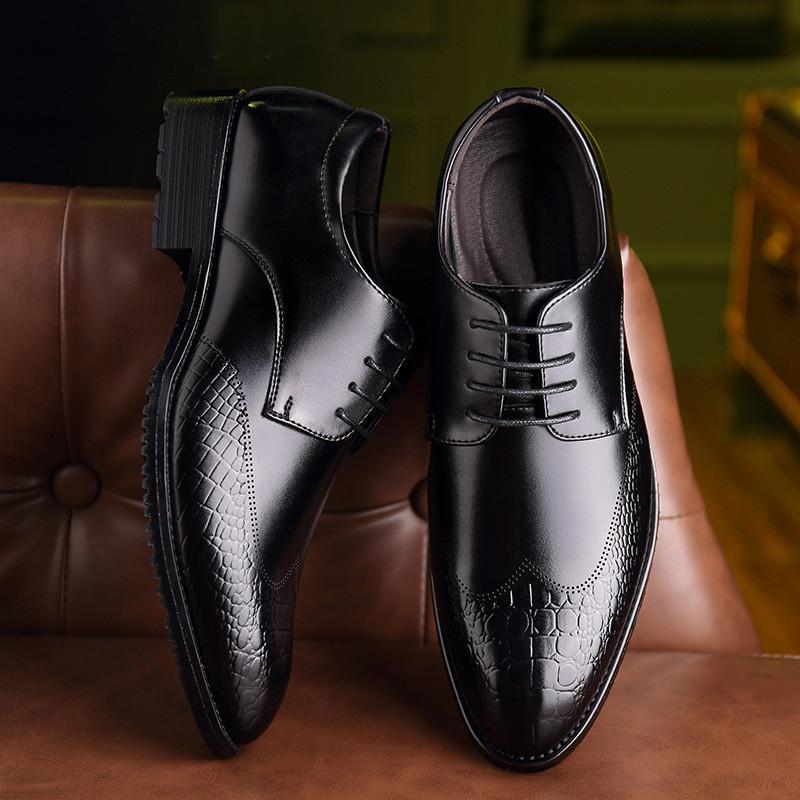 Крокодил Кожаные Ботинки Мужские Ботинки Оксфорд Обувь Для Мужчины Платье Обувь Хомбре Deporte Хомбре Де Moda Вечерние Хомбре Vestir На
