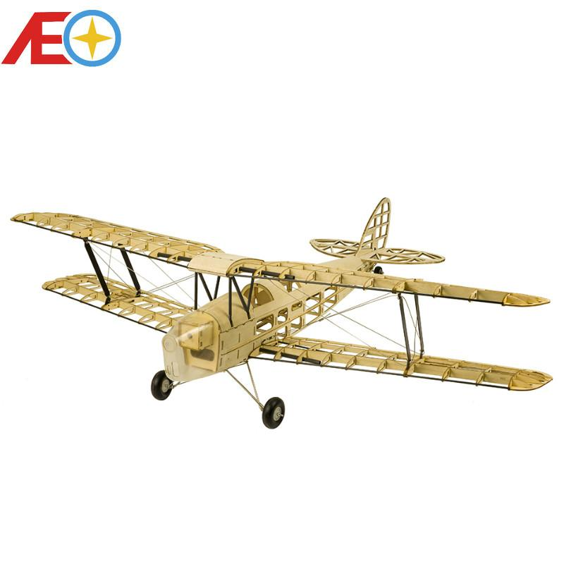 Neue De Havilland DH82a Mini Tiger Moth RC Flugzeug Biplane 980mm Spannweite Laser Cut Balsa Kit Verholzung Modell / WOOD PLAN