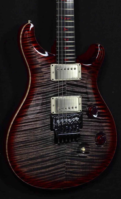 Пользовательские качественные электрические гитары, кусок тела, твердое изысканное кленовое колпачок, PS