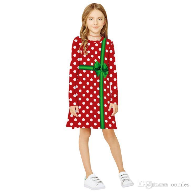 Bébés filles petite robe vêtements filles mode vêtements automne robe mignonne pour Birthday Party Nouveau