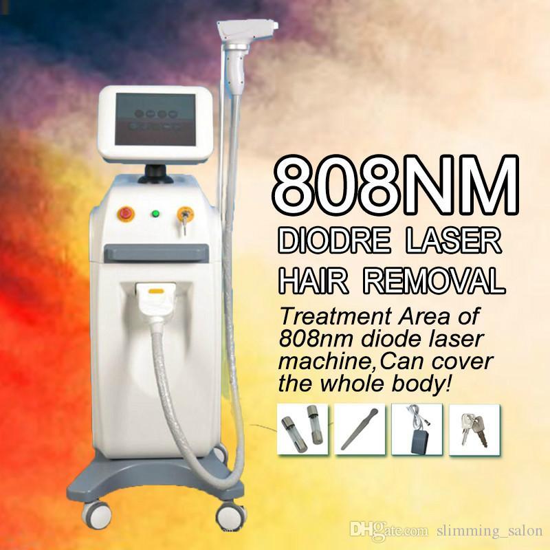 Indolora diodo instantánea máquina de depilación láser suave sistema de congelación láser Cuerpo facial depilación láser para la Mujer