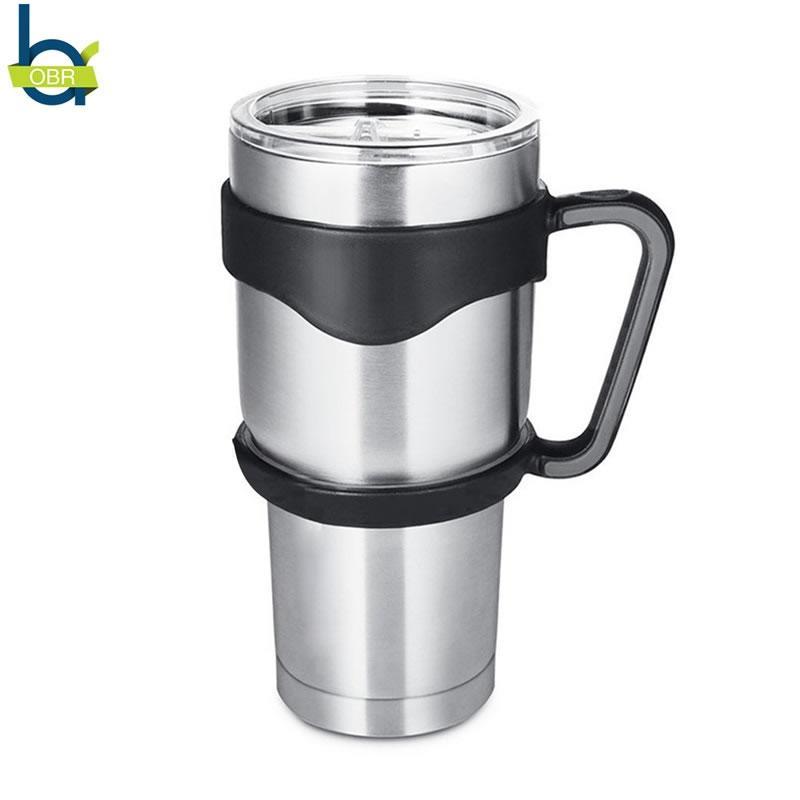 En gros 30 oz en acier inoxydable tasse avec couvercle et poignée double paroi isolation tasse café tasse de bière tasse de thé au lait glace eau thermo