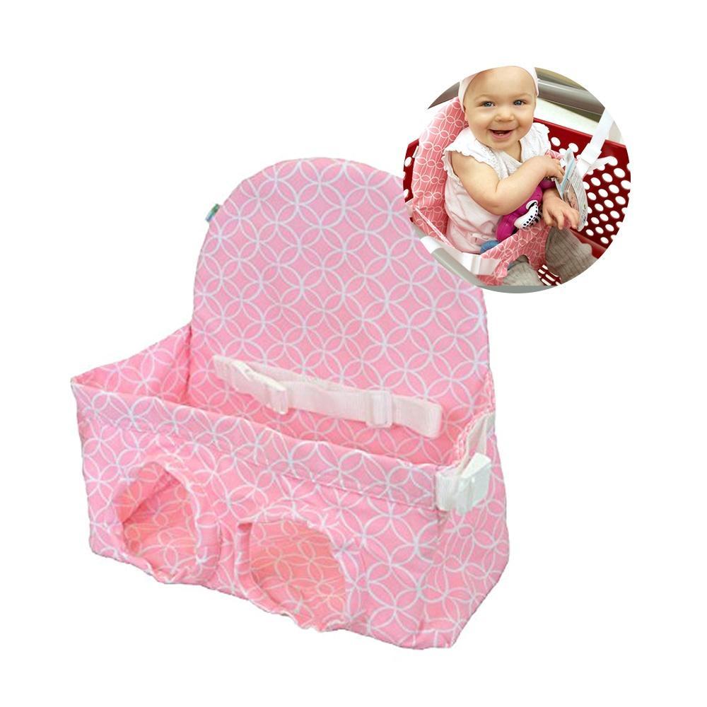 Bébé pliable caddie coussin portable enfants sécurité chariot chaise tapis de siège shopping push couverture de protection pour bébés