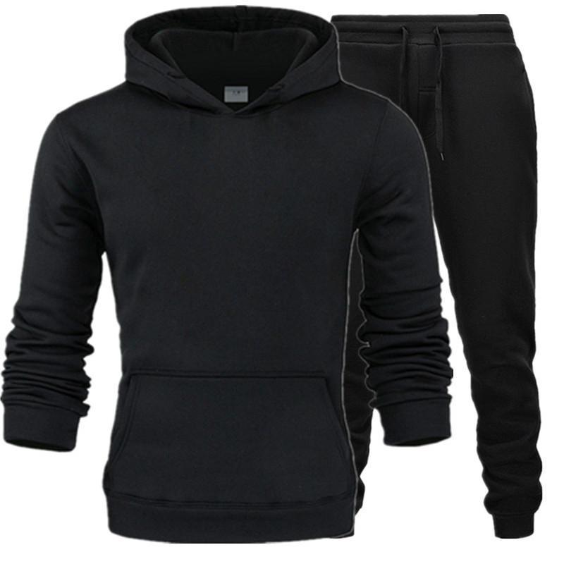 Мужские размеры спортивные одежды нижнее белье толстый костюм спортивная одежда спортивная флисовая костюма толстовка брюки мужские термальные мужчины на кофты DLQOQ