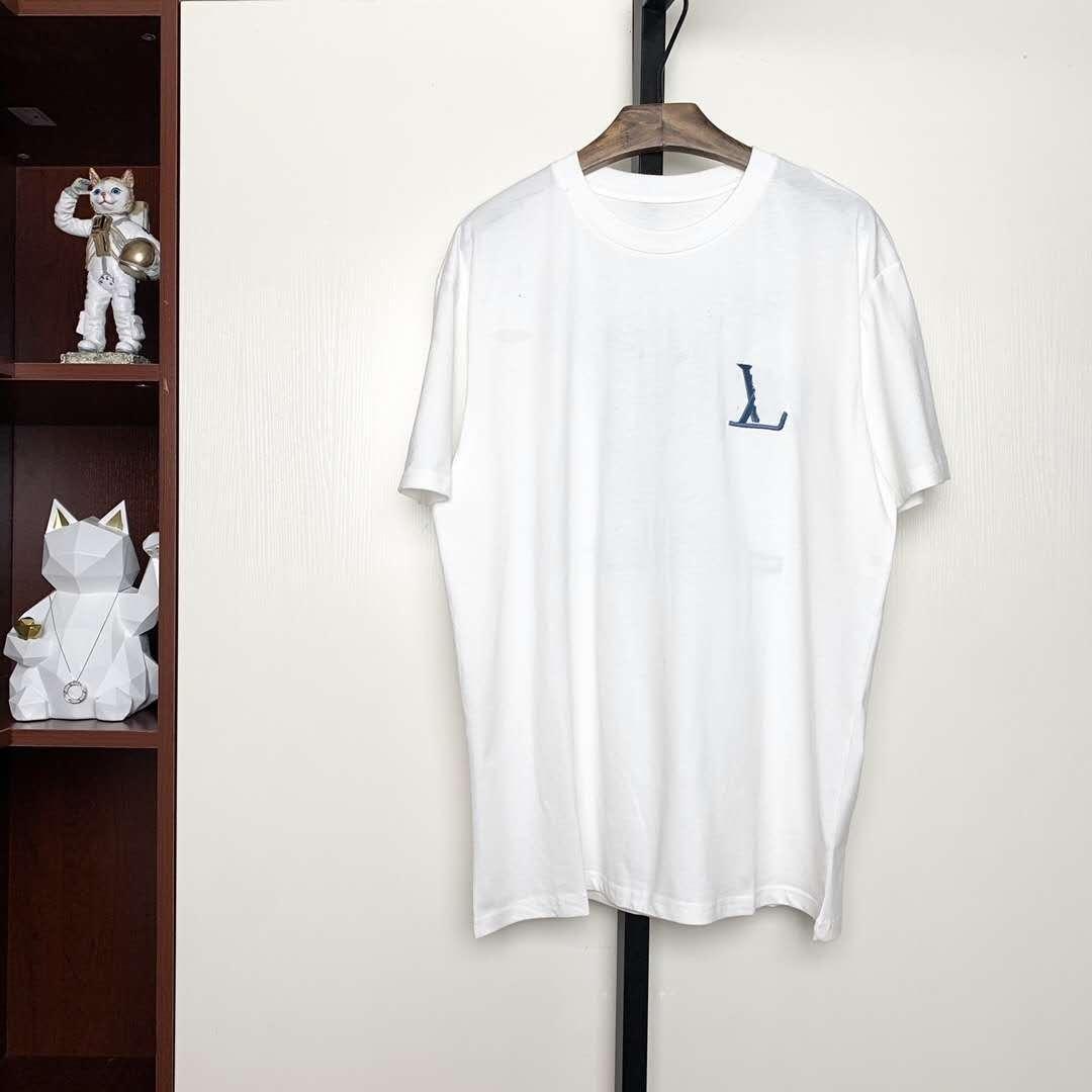 20ss Moda Yuvarlak boyun kısa ilkbahar ve yaz Erkekler Kadınlar Sokak Kısa Kollu zdl0609 büyük baskı yeni gündelik tişört manşon.