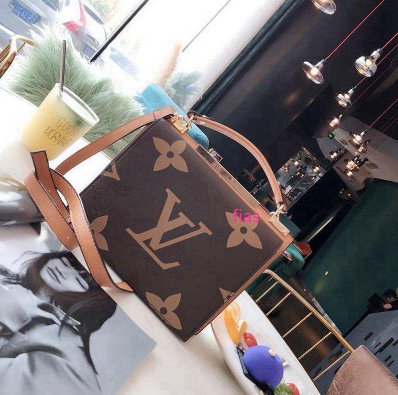 Clássico Couro Moda Shoulder mensageiro Tote Pures Ombro Couro Strap Crossbody Bag de alta qualidade Mulheres Bolsa - 1057