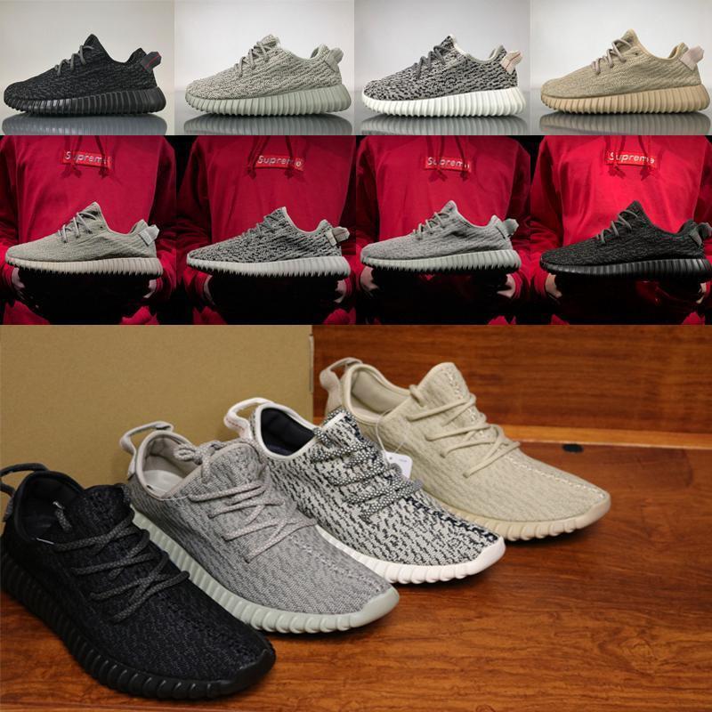 2020 nouvelles Kanye West chaussures femmes hommes v1 350 adidas yeezy boost yeezys pirate noir Tourterelle Moonrock Oxford Tan coureur de vague en cours d'exécution sneakesb082 #
