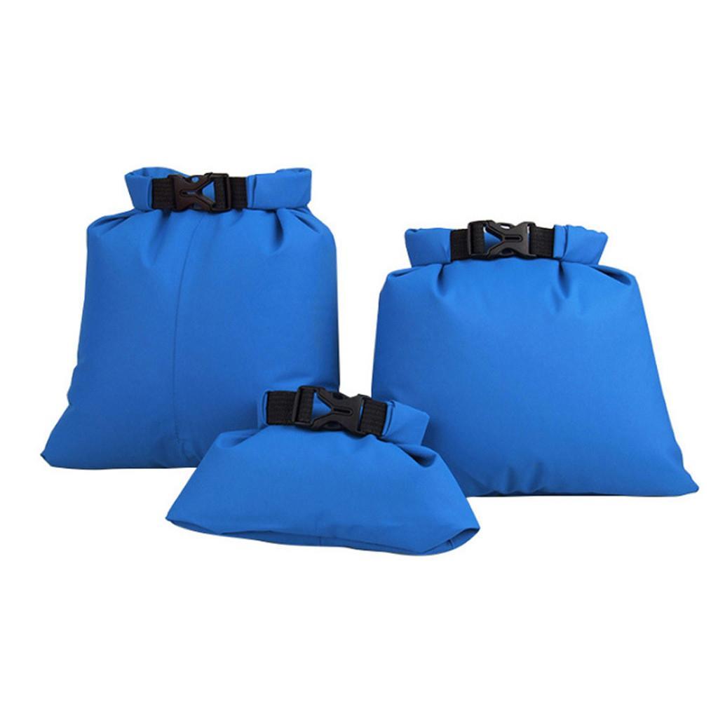 Водонепроницаемый сухой мешок мешок океана пакет Floating катание на лодках Каякинг Camping 3шт @PYS