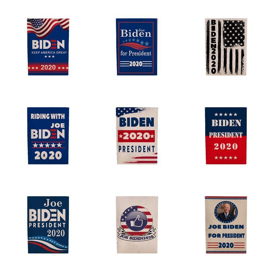 45 * 30 cm Mujeres Para Biden Bandera de América del Presidente Elección de Apoyo Biden Banner Decor 2020 Donald Biden Bandera de poliéster Banner A122602 # 430